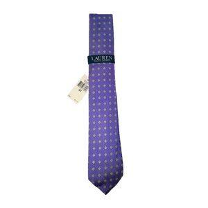 Ralph Lauren Spring Purple Neck Tie NWT